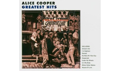 Musik-CD »Greatest Hits / Cooper,Alice« kaufen