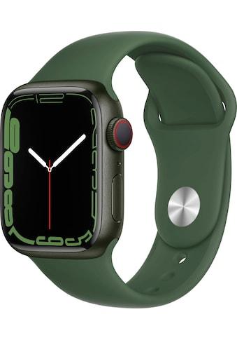 Apple Smartwatch »Series 7, GPS + Cellular, Aluminium-Gehäuse, 45mm«, (Watch OS 8) kaufen