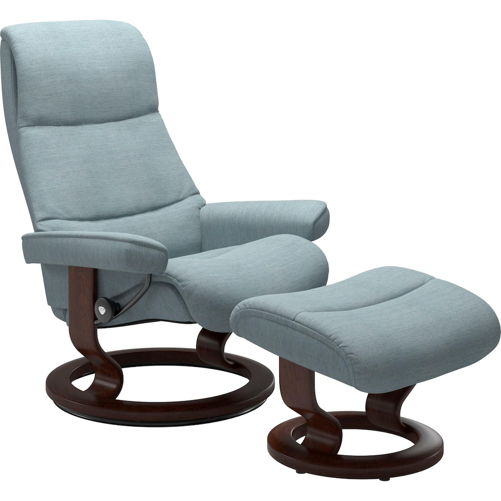 Stressless® Relaxsessel »View«, mit Classic Base, Größe S,Gestell Braun