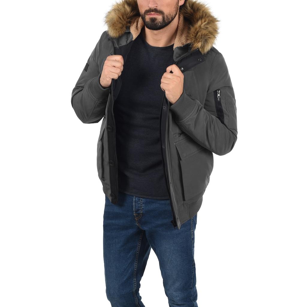 Indicode Winterjacke »Duffy«, modische Winterjacke mit Kapuze