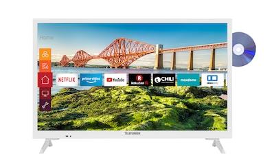 "Telefunken LED-Fernseher »XH24J501VD-W«, 60 cm/24 "", HD-ready, Smart-TV kaufen"