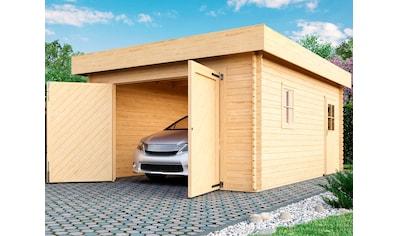 KARIBU Einzel - Garage »Marko«, BxT: 415x572 cm, Einfahrtshöhe 193 cm kaufen