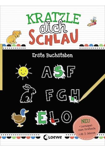 Buch Kratzle dich schlau  -  Erste Buchstaben / Loewe Kratzel - Welt, Corina Beurenmeister kaufen
