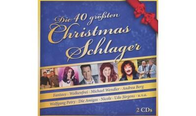 Musik-CD »Die 40 größten Christmas-Schlager / Various« kaufen