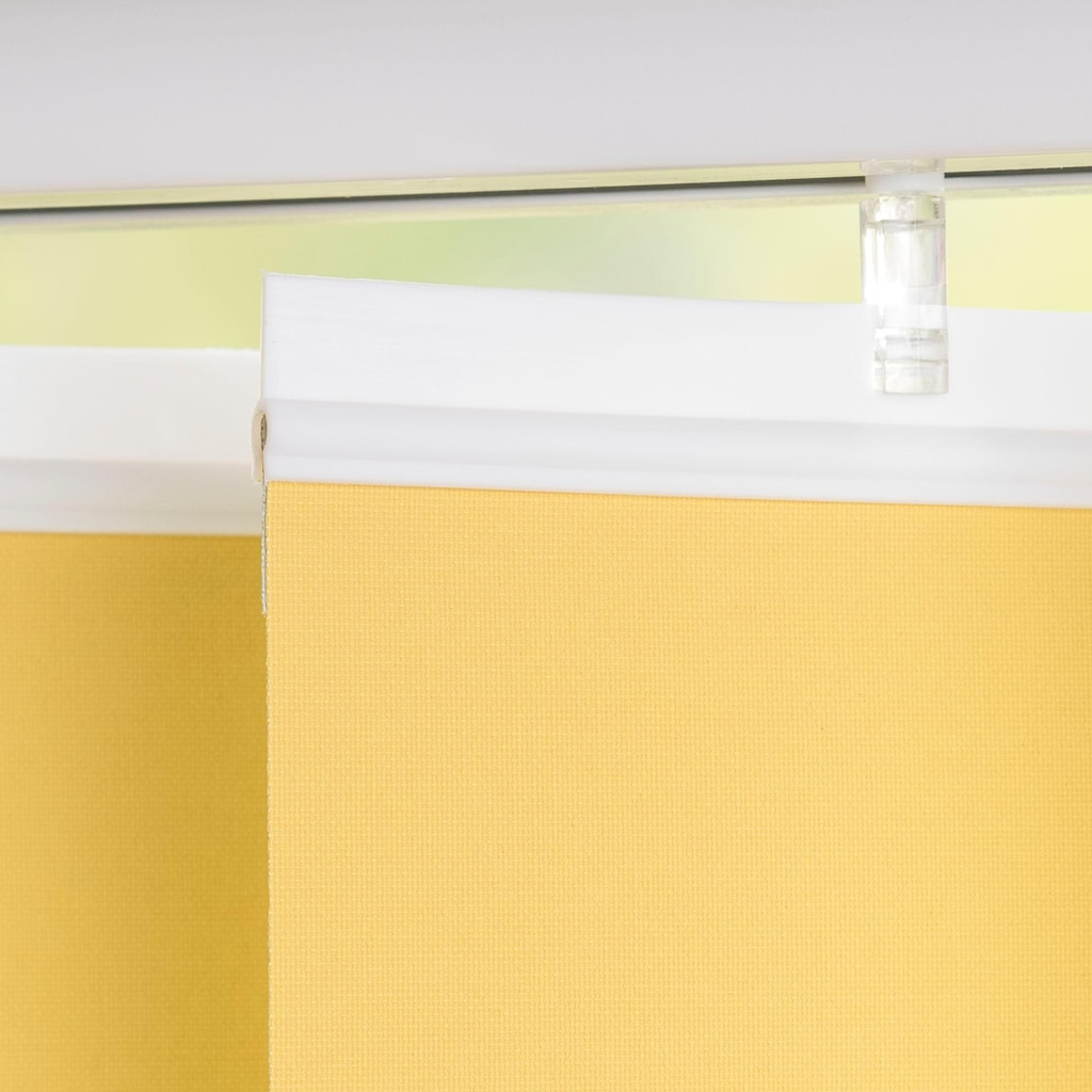 Liedeco Lamellenvorhang »Lamellenvorhang Vertikalanlage Verdunkelung - 127 mm Lamelle«, Kürzbare Vertikalanlage Verdunkelung