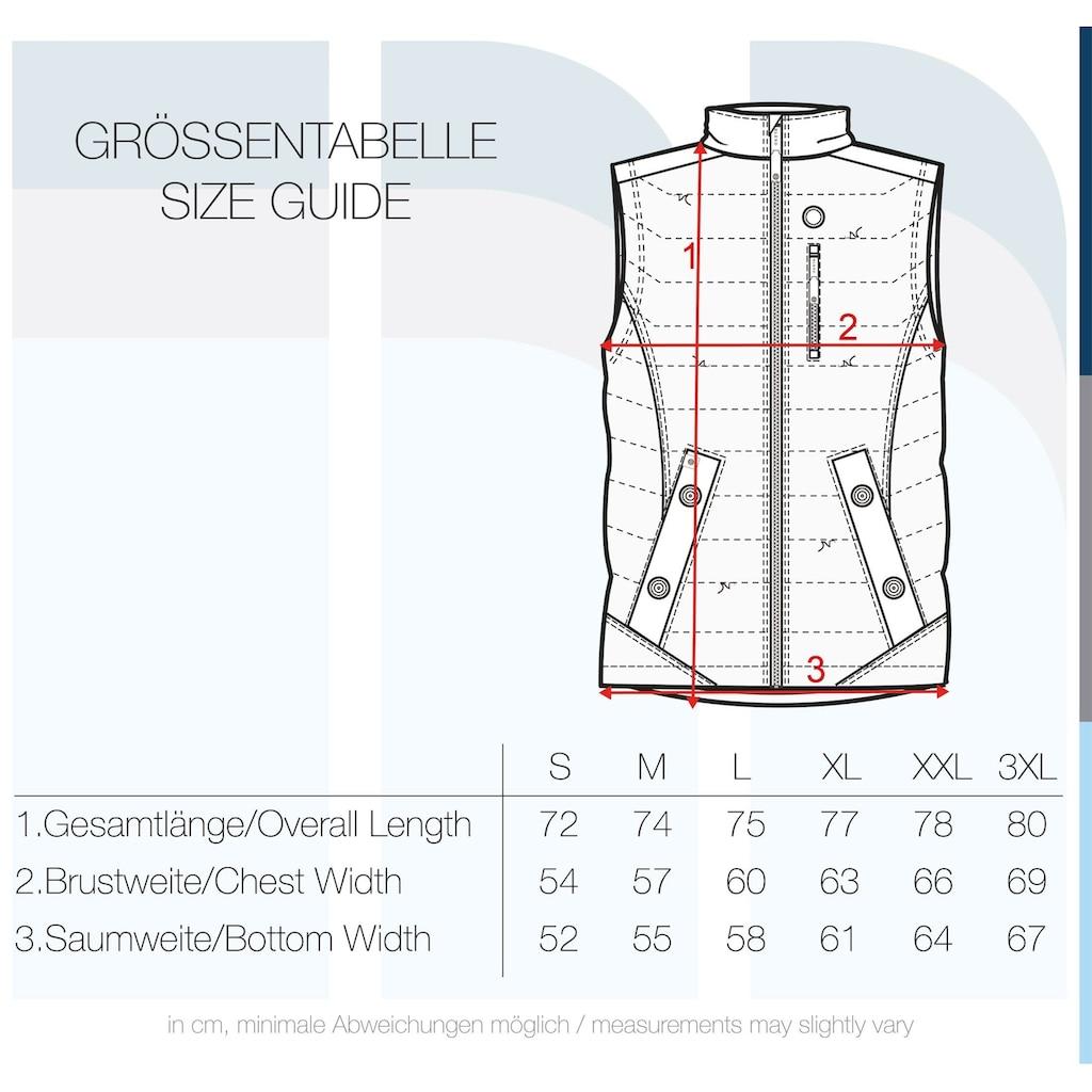 Blend Steppweste »Cemal«, Weste mit verlängerter Rückenpartie