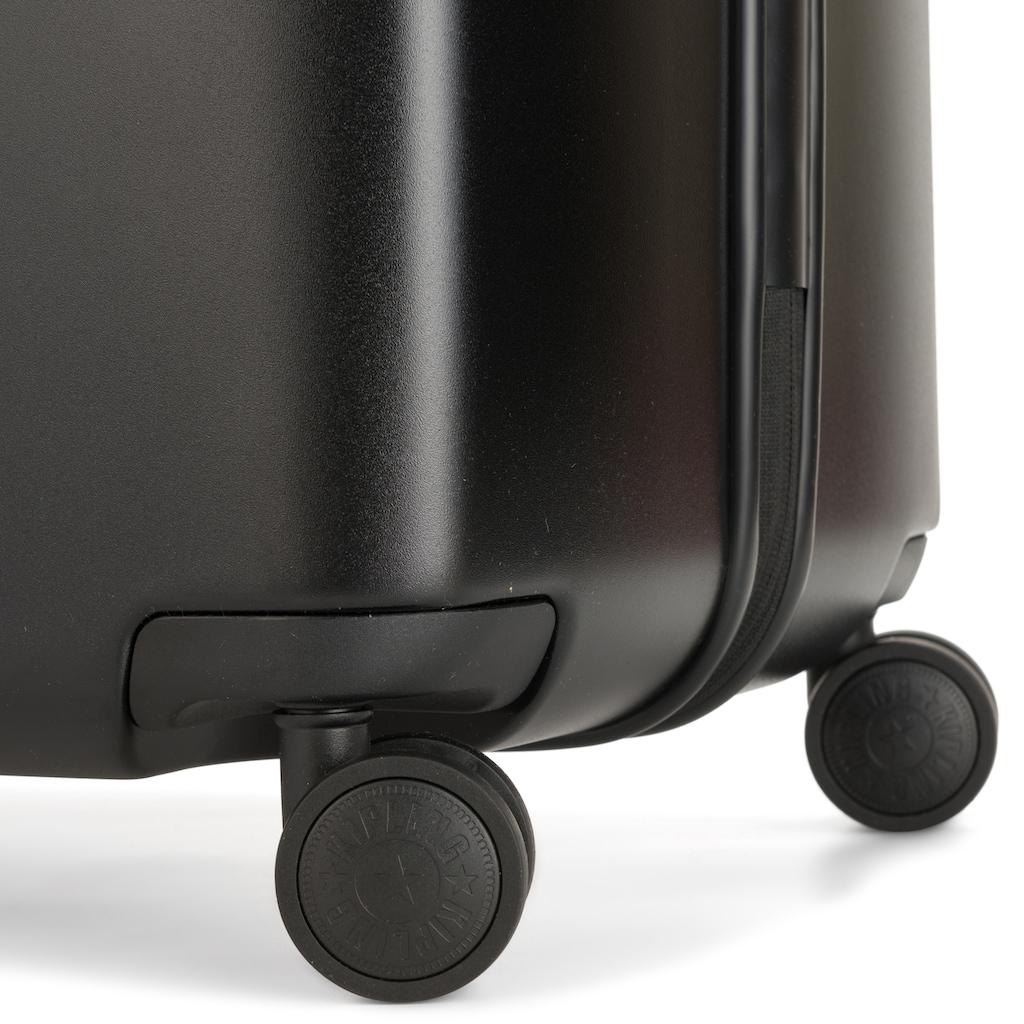 KIPLING Hartschalen-Trolley »Curiosity L, 79 cm, Black Noir«, 4 Rollen
