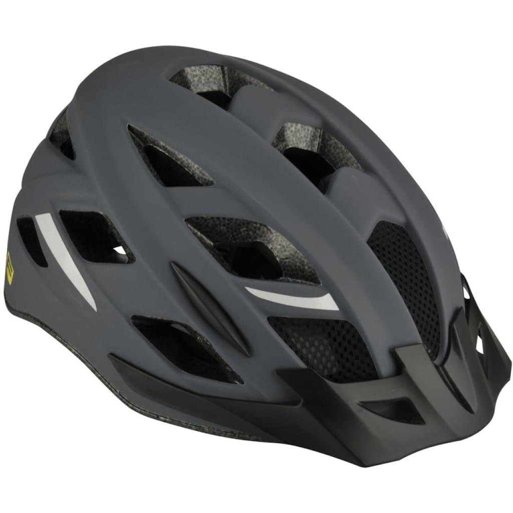 FISCHER Fahrräder Fahrradhelm »Fahrradhelm Urban Levin S/M«, Verstellbarer Innenring-System; mit beleuchtetem Innenring-System
