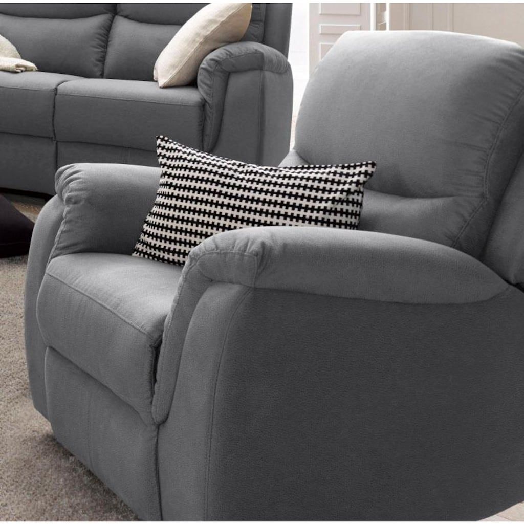 ATLANTIC home collection Relaxsessel, mit Federkern