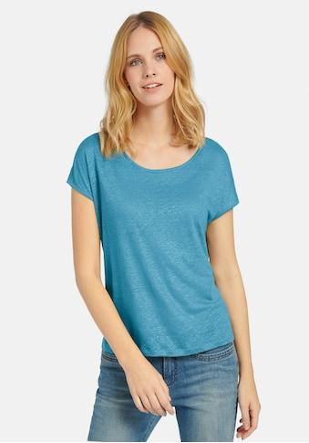 Peter Hahn T-Shirt »Rundhals-Shirt«, aus Leinen kaufen