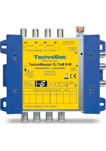 TechniSat SAT - Multischalter, Unicable »TechniRouter 5/1x8 K - R (Kaskade)« kaufen