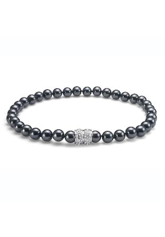 Oliver Weber Perlenkette »Lucent«, Swarovski-Steine kaufen