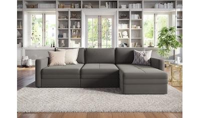 sit&more Ecksofa, mit 2 Bettfunktionen, wahlweise mit 1 Bettkasten kaufen