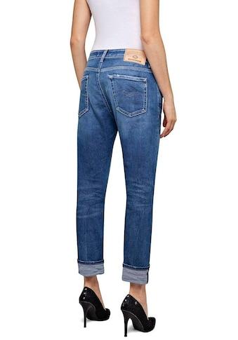 Replay Destroyed-Jeans »MARTY«, im 5-Pocket-Style mit Sitzfalten-Effekten kaufen