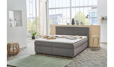 Jockenhöfer Gruppe Polsterbett, mit Bettkasten und Topper kaufen