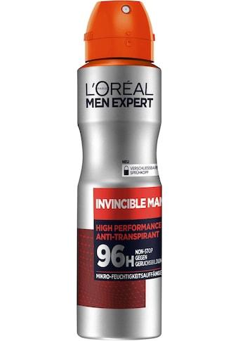 L'ORÉAL PARIS MEN EXPERT Deo-Spray »Invincible Man Anti-Transpirant«, 96H Schutz vor... kaufen