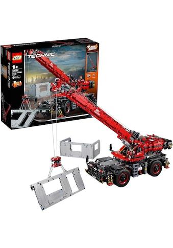 """LEGO® Konstruktionsspielsteine """"Geländegängiger Kranwagen (42082), LEGO® Technic"""", Kunststoff, (4057 - tlg.) kaufen"""