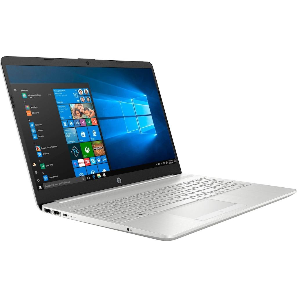 "HP Notebook »15-dw1271ng«, (39,6 cm/15,6 "" Intel Core i7 GeForce MX250\r\n 512 GB SSD), Kostenloses Upgrade auf Windows 11, sobald verfügbar"