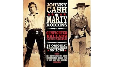 Musik-CD »Gunfighter Ballads & More / Cash,Johnny & Marty Robbins« kaufen