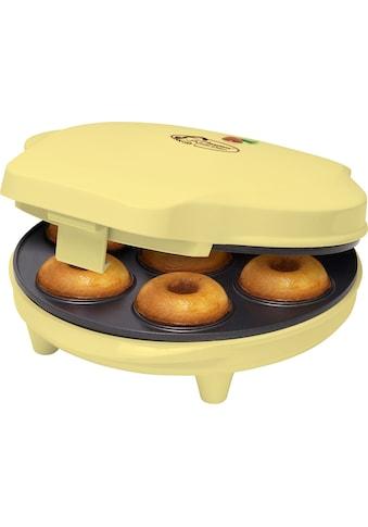 bestron Donut-Maker »Sweet Dreams«, 700 W, im Retro Design, Antihaftbeschichtung,... kaufen