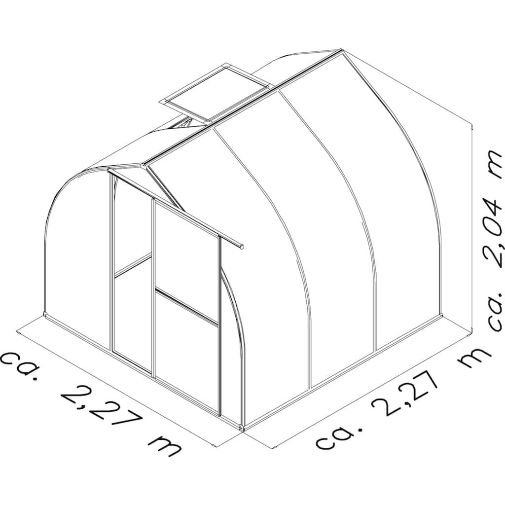 KGT Gewächshaus »Rhodo III«