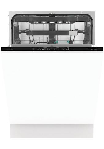 GORENJE vollintegrierbarer Geschirrspüler »GV671C60XXL«, SmartFlex, GV671C60XXL, 16 Maßgedecke kaufen
