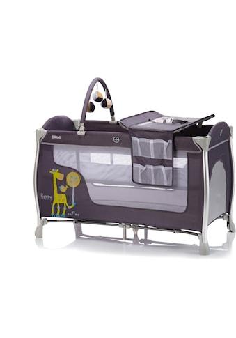 Fillikid Baby-Reisebett »Supreme, Happy roller Giraffe grau«, inkl. Transporttasche kaufen