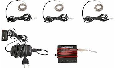 LED Schrankinnenraumbeleuchtung »RGB Flexband«, 3 St., Farbwechsler, (3 Stück) mit... kaufen