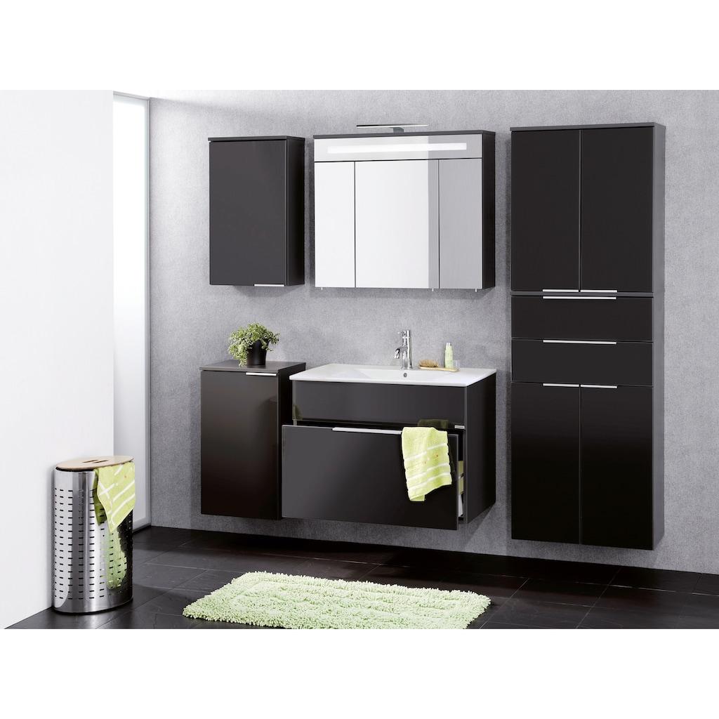 FACKELMANN Waschbeckenunterschrank »Kara«, Glasfront