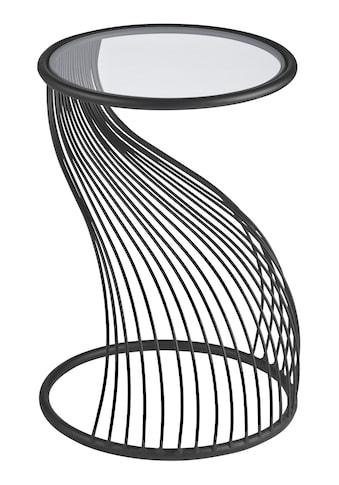 Beistelltisch in dekorativ geschwungener Form kaufen