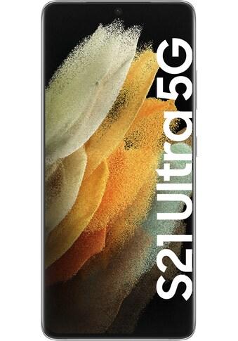 """Samsung Smartphone »Galaxy S21 Ultra 5G«, (17,3 cm/6,8 """", 512 GB Speicherplatz, 108 MP... kaufen"""