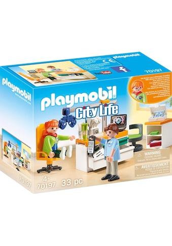 Playmobil® Konstruktions-Spielset »Beim Facharzt: Augenarzt (70197), City Life«, (33... kaufen