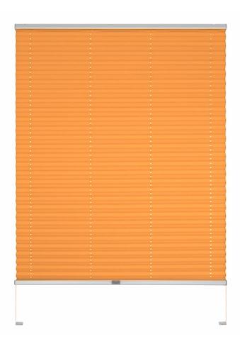 Good Life Dachfensterplissee nach Maß »Dena«, Lichtschutz, mit Bohren, verspannt, Schienenfarbe in silber kaufen