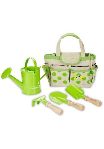EverEarth® Kinder-Gartenset »Gartenbeutel mit Geräten«, (Set, 5 tlg.), FSC®-Holz aus... kaufen
