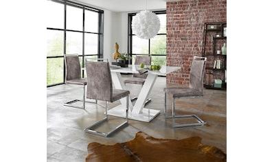 INOSIGN Essgruppe »Andy/Jella«, (Set, 5 tlg.), mit Tisch und 4 Stühlen kaufen