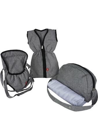 Knorrtoys® Puppen Schlafsack »Puppenzubehörset - stone«, mit Puppenbauchtrage und... kaufen