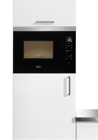 AEG Einbau-Mikrowelle »MBB1755SEM«, Mikrowelle, 800 W, Touch-Bedienung kaufen