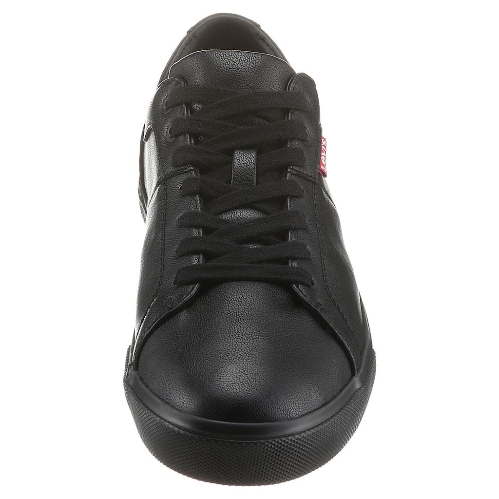 Levi's® Sneaker »WOODWARD«, mit Ziernähten