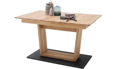 MCA furniture Esstisch »Cuba«, Esstisch Massivholz ausziehbar, Tischplatte mit... kaufen