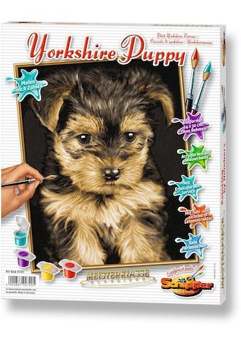 Schipper Malen nach Zahlen »Meisterklasse Klassiker - Yorkshire Puppy«, Made in Germany kaufen