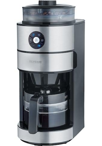 Severin Kaffeemaschine mit Mahlwerk KA 4811, Permanentfilter 1x2 kaufen