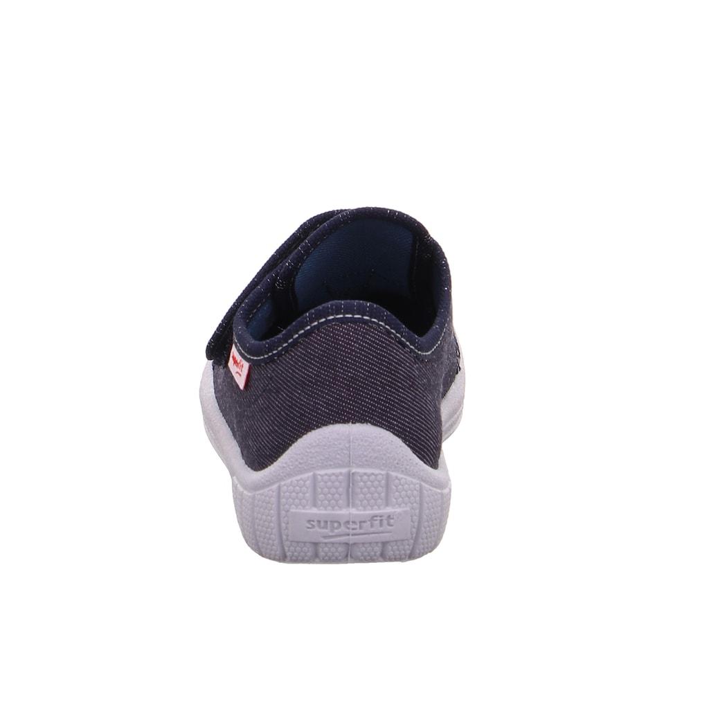 Superfit Hausschuh »BILL«, mit Schuhweitenmesssystem WMS: mittel