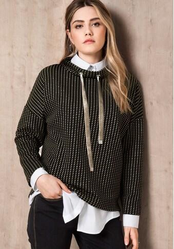 bianca Langarmshirt »KARILIA«, im angesagten Karo-Look kaufen