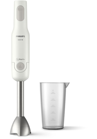 Philips Stabmixer »Daily Collection ProMix HR2534«, 650 W, Metall Mixstab kaufen