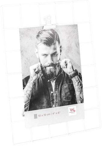 Walther Wanddekoobjekt »Rod«, Fotohalter, Dekogestell, Metallgitter, für Bildformate... kaufen