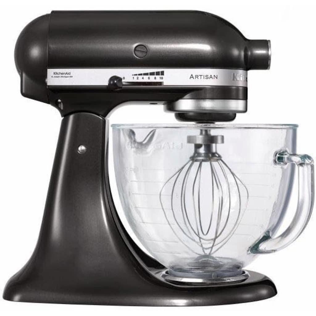 KitchenAid Küchenmaschine Artisan 5KSM150EBZ, 300 Watt, Schüssel 4,8 Liter