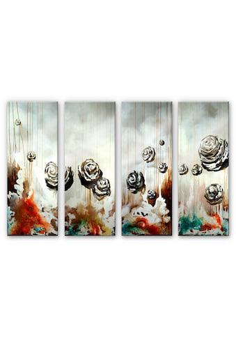 Wall-Art Mehrteilige Bilder »Paradiesische Collage (4-teilig)«, (Set, 4 St.) kaufen