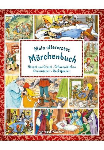 Buch »Mein allererstes Märchenbuch / Svenja Nick, gondolino Meine allerersten Bücher, Marina Krämer, Felicitas Kuhn« kaufen