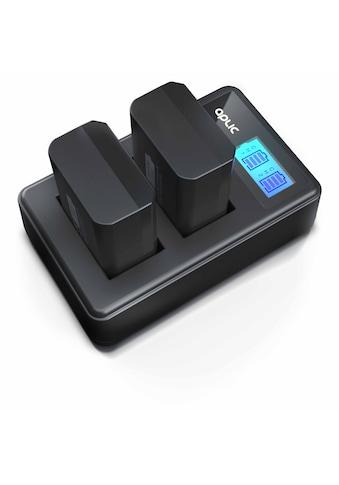 Aplic Kamera-Ladegerät »LCD Display - für Sony NP-FW50 Akkus«, mit 2 Ersatzakkus für... kaufen