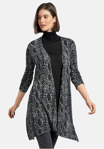 include Strickjacke »Long«, mit Snake-Print kaufen